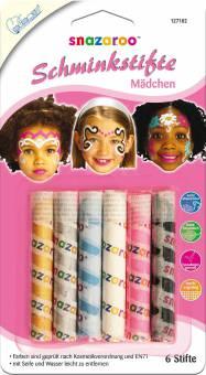 Snazaroo 127102 Schminkstifte Mädchen