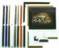 4 St�ck Bilderrahmen 18 x 24 cm Rahmen f�r z.B. Schipper Malen nach Zahlen Bilder