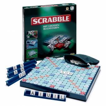 piatnik 550310 scrabble mit gro en buchstaben kinderspiele hobbyshop. Black Bedroom Furniture Sets. Home Design Ideas