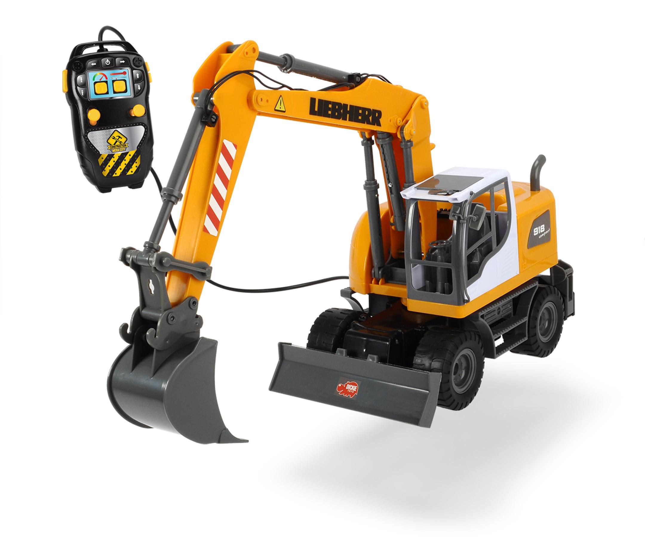 dickie 203728000 liebherr excavator, kinderspielzeug | kinderspiele
