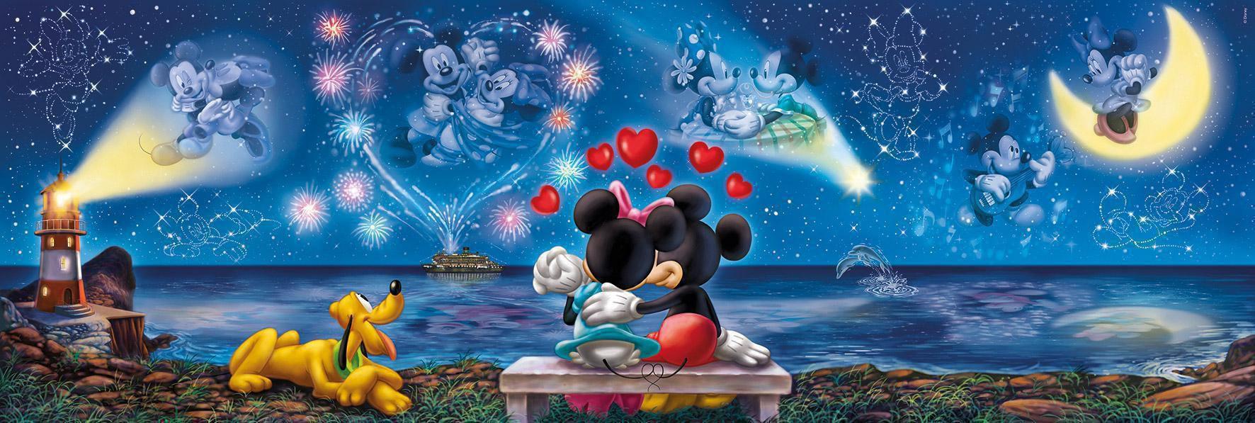 mickey mouse kissen