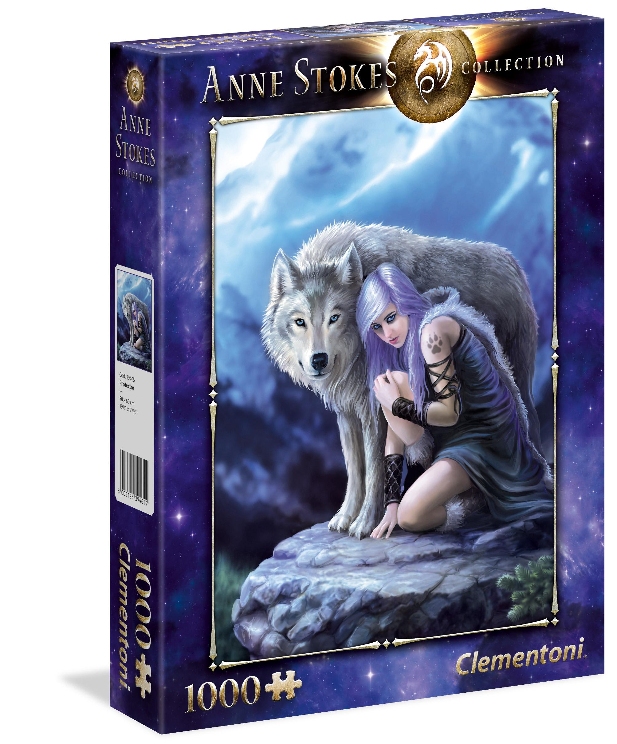 Anne Stokes Nur Love Bleibt 1000 Stück Puzzle