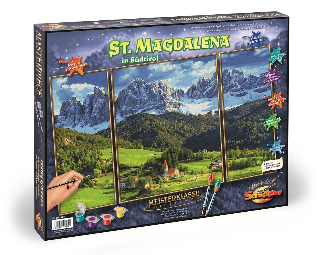 Schipper 609260760 Malen Nach Zahlen St Magdalena In Sudtirol