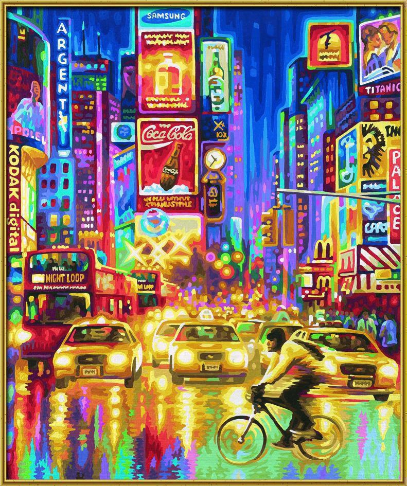 Schipper 609360555 The New York Times Square Malen nach Zahlen ohne ...