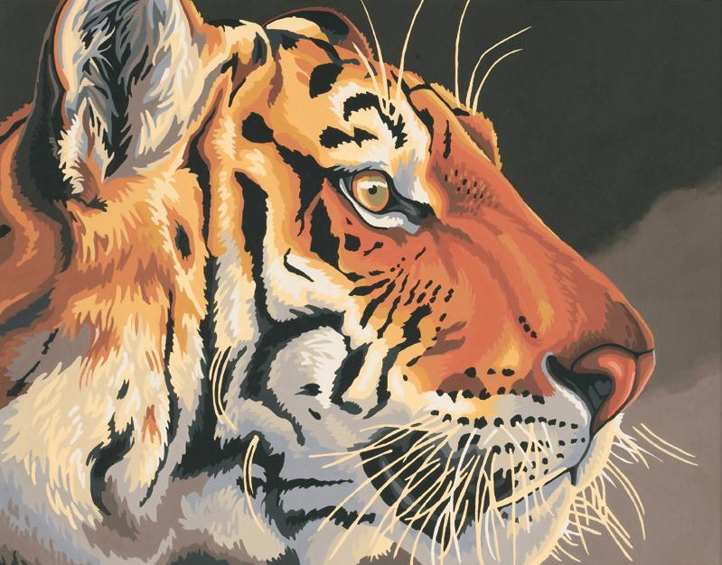 Regal Tiger 91323 Malen Nach Zahlen