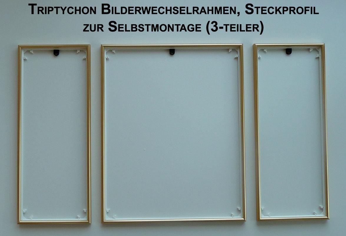Bilderrahmen Triptychon für z.B. Schipper Malen nach Zahlen Bilder ...