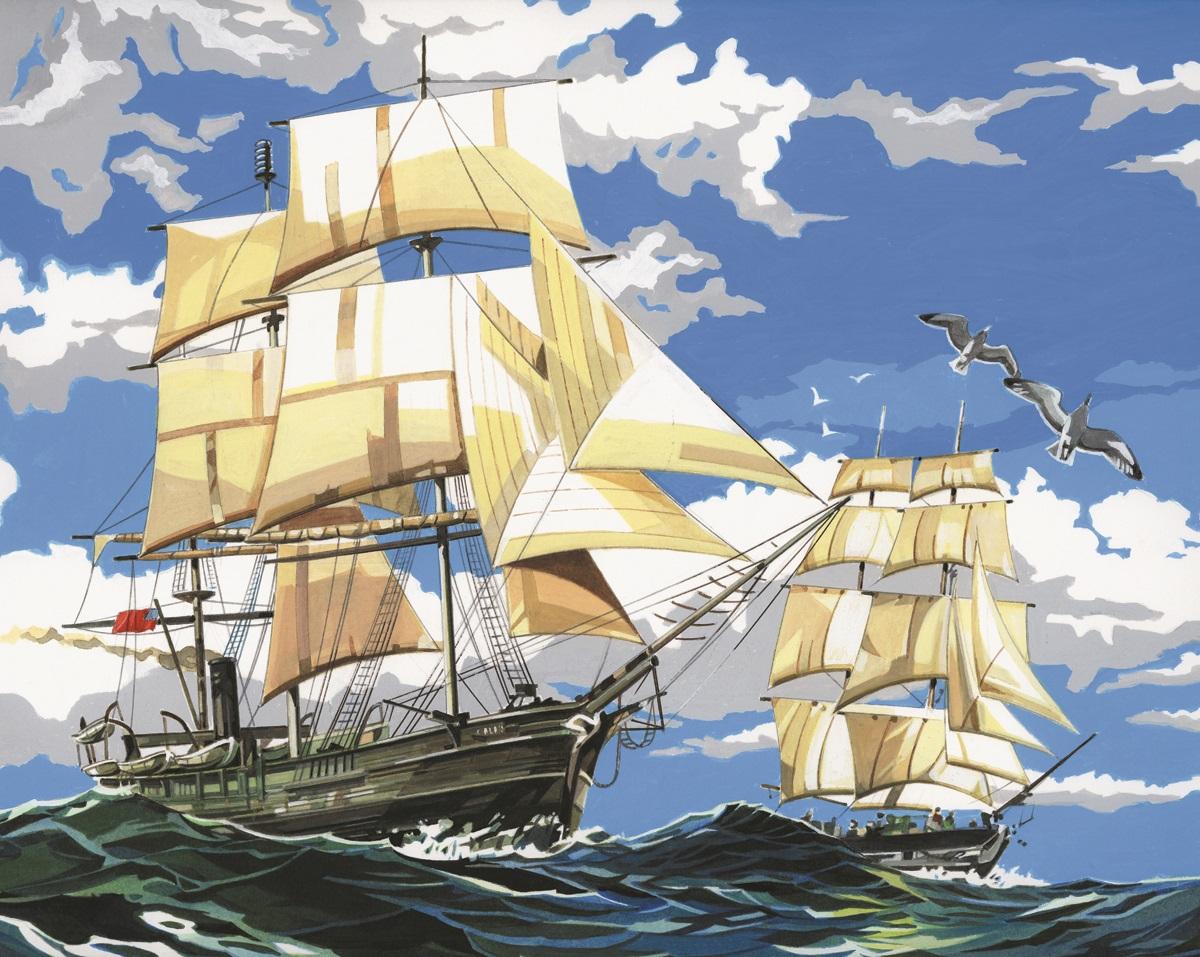 Royal Langnickel Pcl1 Malen Nach Zahlen Segelschiffe