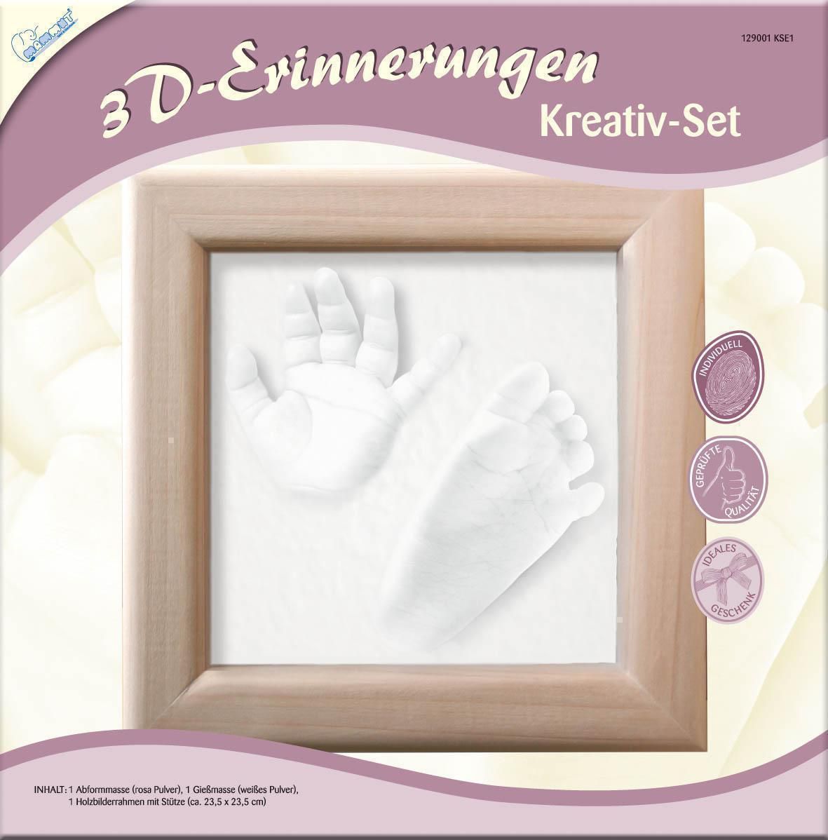 Kreativ Set 3D Erinnerungen KSE1 von Ihr Baby | Geschenke ...