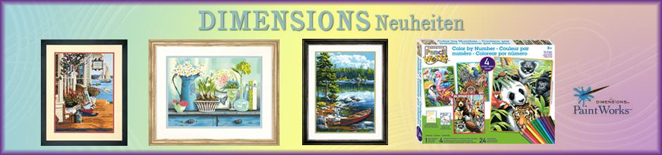 Dimensions Neuheiten 2013
