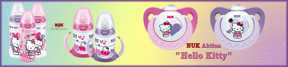 Banner NUK Hello Kitty